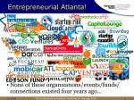 Entrepreneurial Atlanta!!