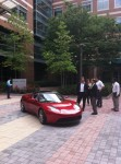 Tesla at Technology Square