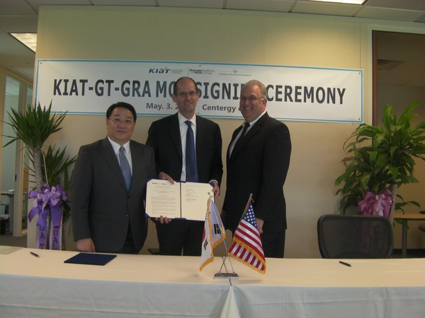 photo of KIAT/GT Signing Ceremony