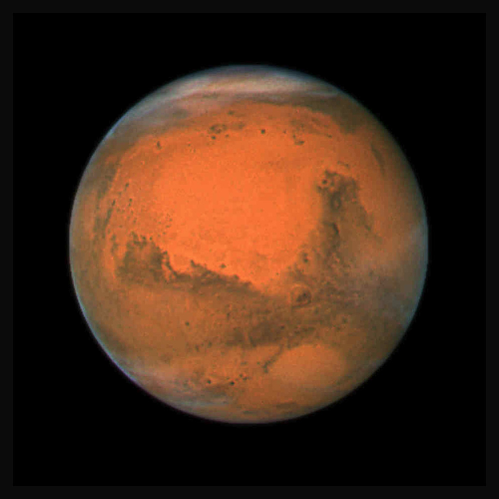 how much is the planet mars - photo #11