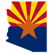 Flag_map_of_Arizona 110px
